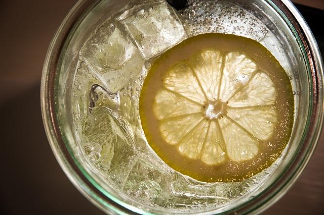 レモンの水