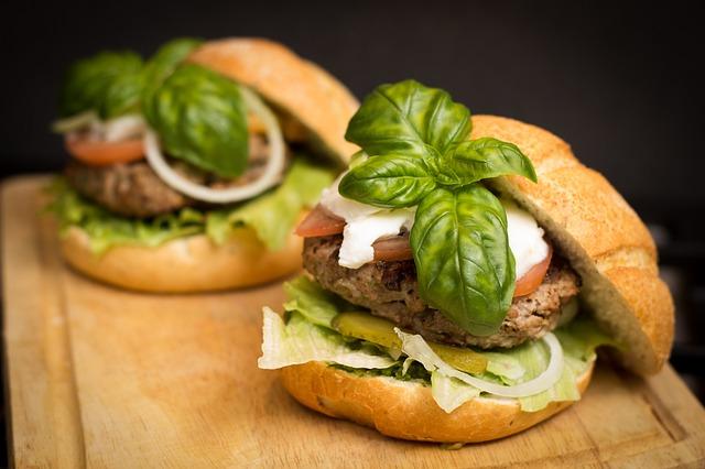 バジルハンバーガー