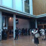 大ホールの入口