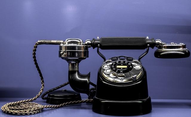 旧式の電話