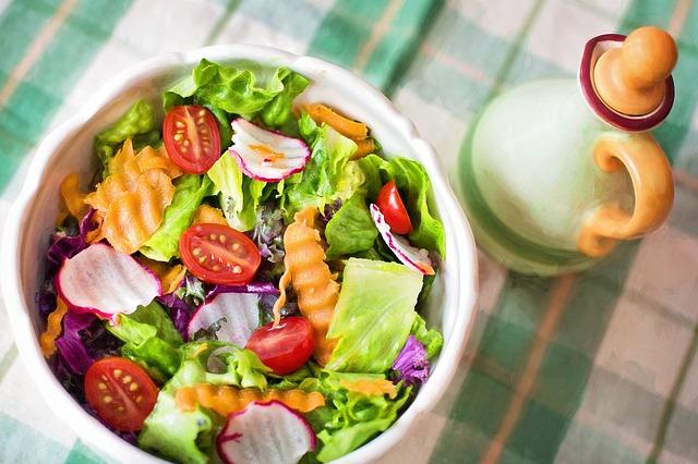 野菜のサラダ
