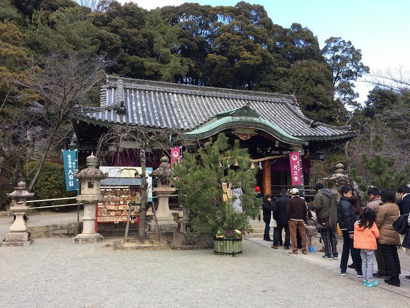 春日神社初詣