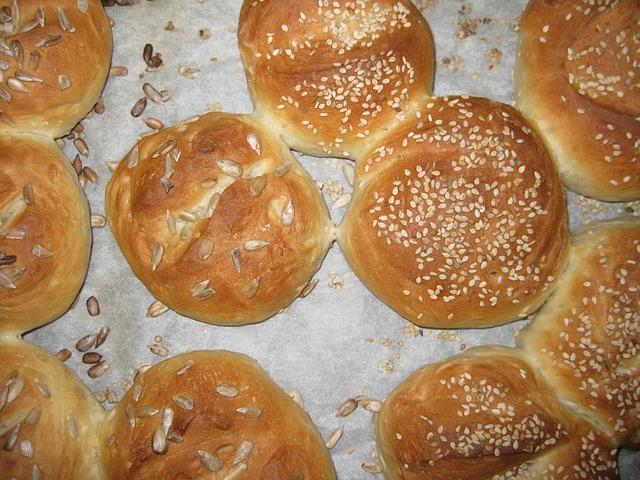 ヒマワリのパン
