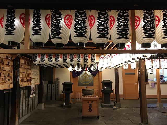 神社の入口