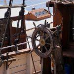 ヨットの甲板