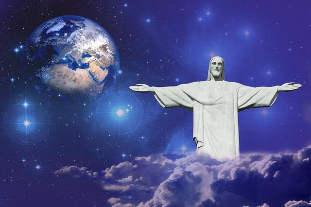 天上のイエスキリスト