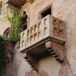 ロミオとジュリエットのバルコニー