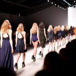 ファッションの列