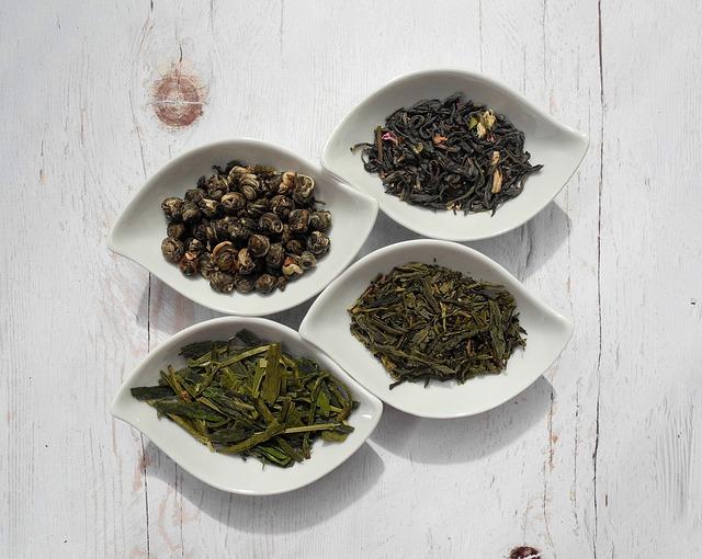 4種類の茶葉