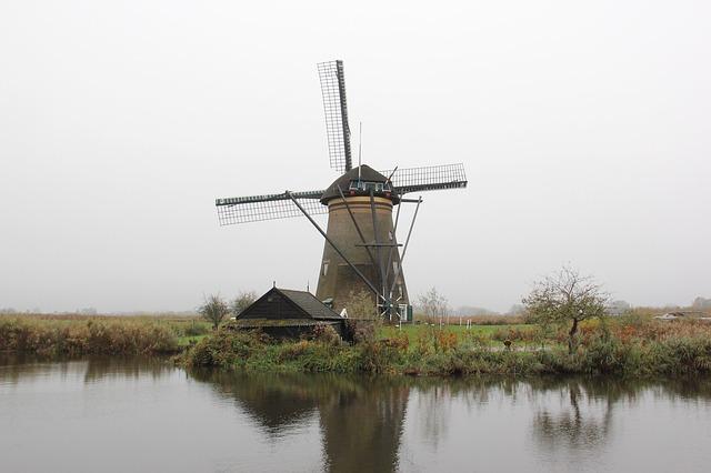 オランダの堤防