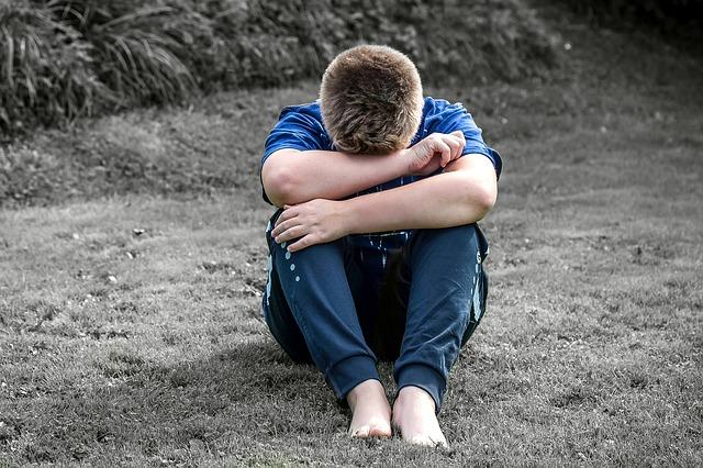 悲しい少年