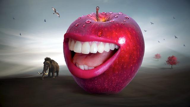 お化けりんご