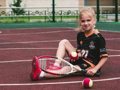 テニスと少女