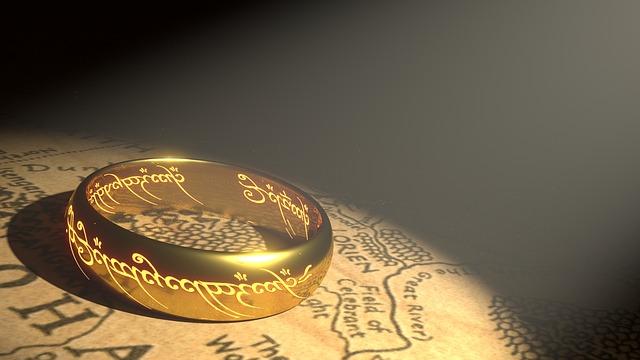 ロードオブザリングの金の指輪