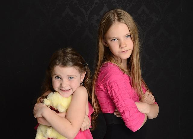 仲の良い姉と妹