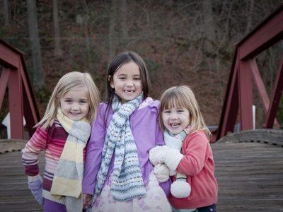 仲良し3人姉妹