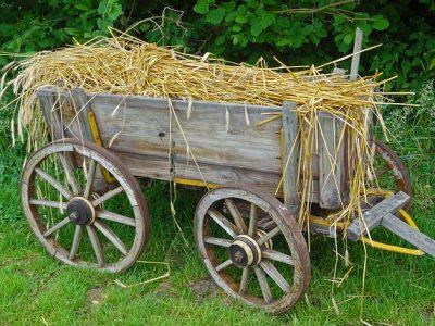 藁のカート