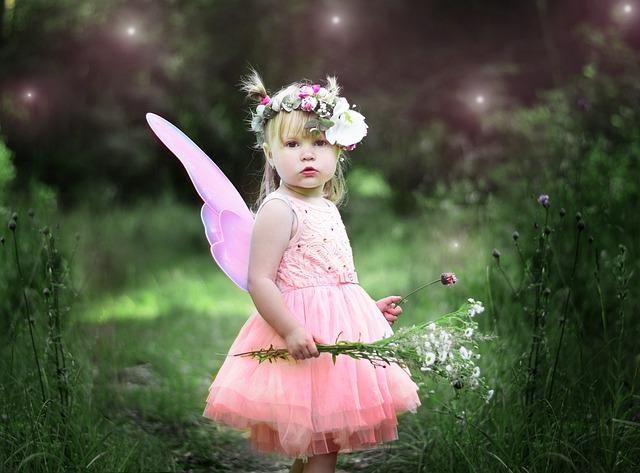 天使の女の子