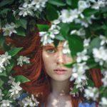 花の女の子